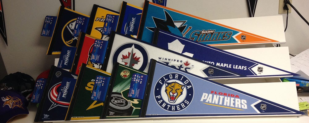 Sports and Entertainment Pennants